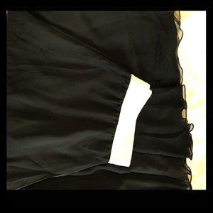 LuLaRoe solid black Lola skirt